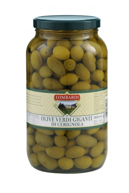 Green giant olives