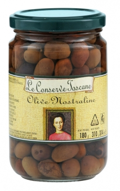 """""""Nostraline"""" black olives"""