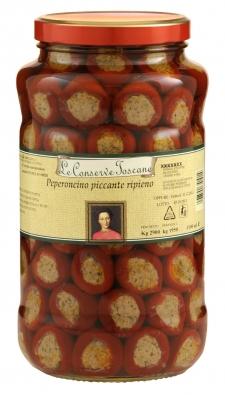 Peperoncini ripieni piccanti