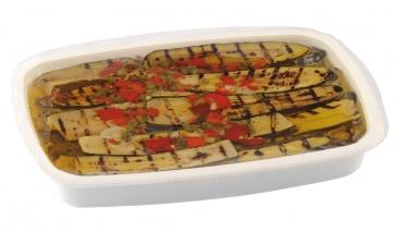 Zucchine arrostite in vaschetta